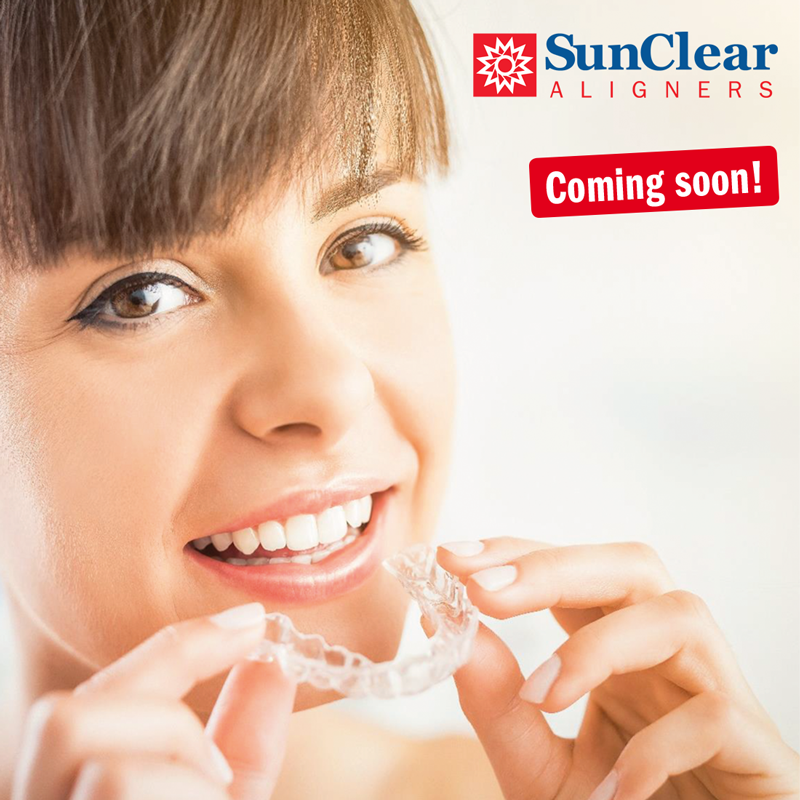 sun clear aligners coming soon