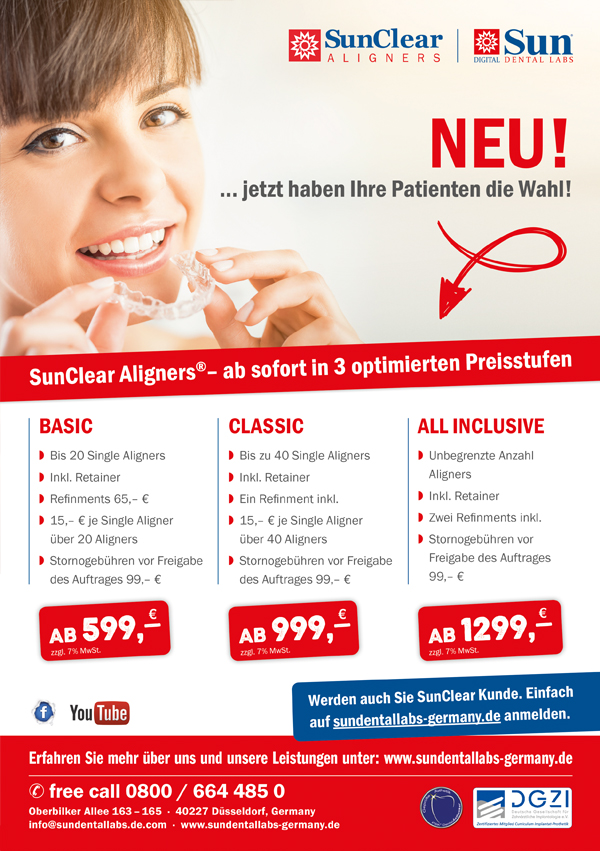 SunClear Aligners